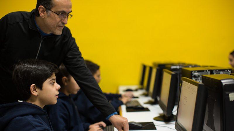 necali computo informatica niños alumnos profesor docente