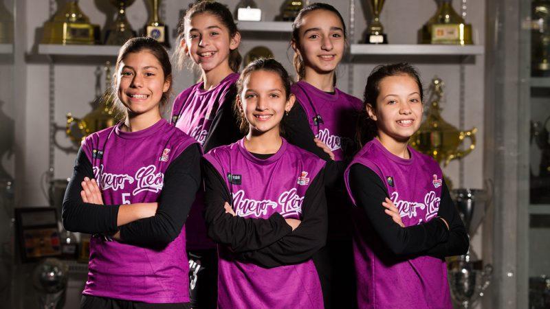 necali equipo basquetbol femenil alumnas niñas
